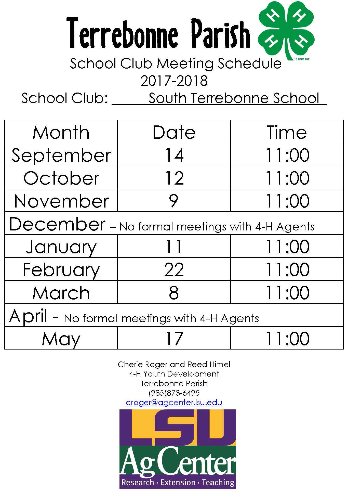 2017-2018 STHS 4H meeting Schedule.jpg
